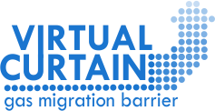 Virtual Curtain Gas Migration Barrier